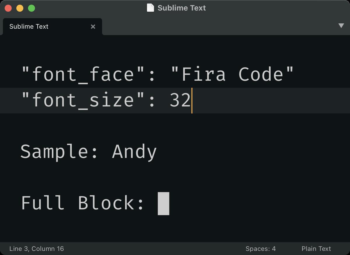Font size is useless; let's fix it