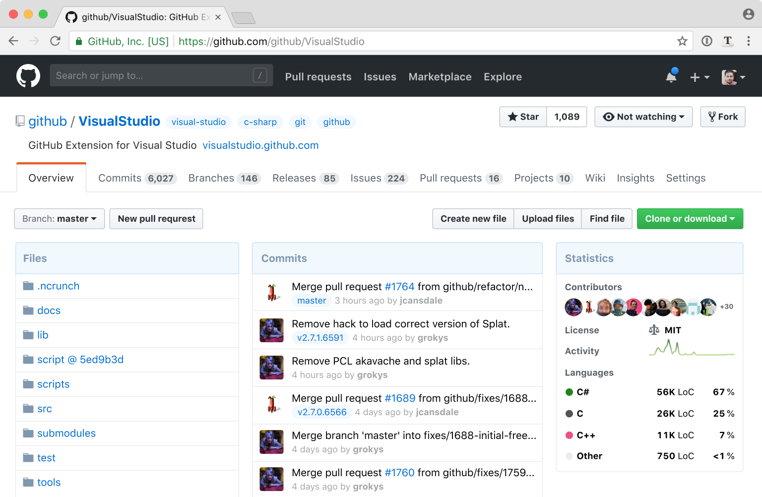 Redesigning Github repository page @ tonsky me